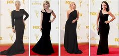 Black dress - Emmy Awards 2015 - nick na europa