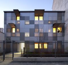 These low-income housing options break away from the brutalist concrete structures of the past, offering a secure housing base from which residents can not o. Contemporary Architecture, Interior Architecture, Concrete Structure, Social Housing, Affordable Housing, Modern Exterior, House Design, House Styles, Paris France