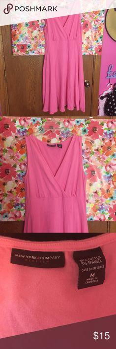 New York and company pink dress Size medium New York & Company Dresses Midi