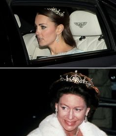 In December 2013, Kate wore her second-ever tiara when she attended an official event at Buckingham Palace while wearing the Lotus tiara. Like most of Kate's borrowed jewels, the item originally belonged to the Queen Mother. The tiara was originally a necklace and was given to the Queen Mother as a wedding present from King George VI in 1923. George later had the item dismantled and worked into a tiara by Garrard. (This practice is actually pretty common among the royals, and Diana was ...