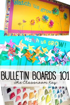Bulletin Boards Design tips to take your classroom decor to the next level Spring Bulletin Boards, Preschool Bulletin Boards, Preschool Classroom, Future Classroom, Bullentin Boards, Primary Classroom, Classroom Displays, Classroom Themes, Classroom Organization