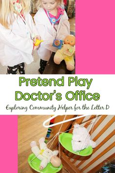 Hands-on activity for Doctor, a community helper for the letter D. Preschool Learning Activities, Hands On Activities, Sticker Chart, Playing Doctor, Body Map, Doctor Office, Letter D, Community Helpers, Hands On Learning