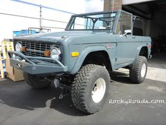 We are restoring this early model Bronco. Check out more of our classic custom Broncos at RockyRoads.com  #classicbronco #vintage #Ford
