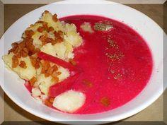 Barszcz czerwony z ziemniaczkami Poland, Food And Drink, Dinner, Healthy, Christmas, Polish Recipes, Dining, Xmas, Food Dinners