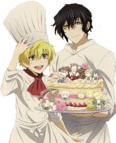 cooking manga   Gil X Oz
