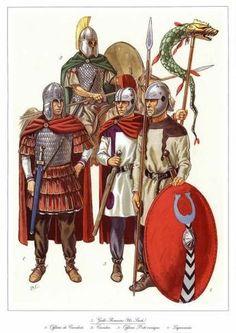 Late roman legionnaires