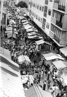 Mercado de Chacao en el año 1973. Foto: Jose Díez/Cadena Capriles