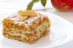 Gestreuter Tassenkuchen mit Äpfeln Sure you know the delicious apple pie with pudding. This is a recipe for a simple but delicious apple pie.