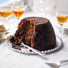 Delia Smith's traditional Christmas pudding