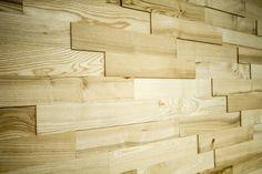14 - Durch die dreidimensionale Optik des Wanddesigns bekommen Räume einen einzigartigen Charakter.