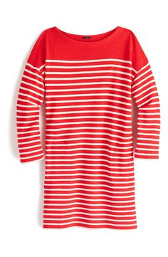 Stripe Boatneck Tunic