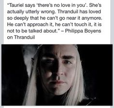 Proving my point that Thranduil is not as annoying as everyone keeps saying!