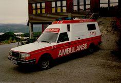 Norwegian Volvo 260 Ambulance   by norway_medic