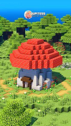 Mine Minecraft, Cute Minecraft Houses, Minecraft Funny, Amazing Minecraft, Minecraft Tips, Minecraft Blueprints, Creeper Minecraft, Minecraft Creations, Minecraft Cake