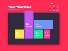 Designer Time Tracking App II by Hanna Jung