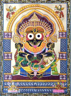 Kala Ksetram, Jagannatha as Nrsimhadeva Madhubani Art, Madhubani Painting, Kalamkari Painting, Lord Vishnu, Lord Ganesha, Krishna Art, Hare Krishna, Navratri Wallpaper, Lord Jagannath