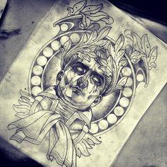 Done by Sam Clark, tattooist based in Noosa, Australia TattooStage.com - Rate & review your tattoo artist. #tattoo #tattoos #ink
