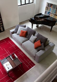 Przygotowana na Święta #sofa #santorini #livingroom #christmas #time #modern #design