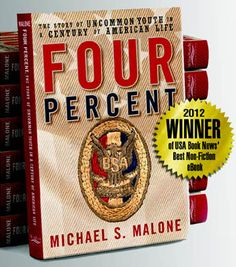 Four Percent – Eagle Scout History Truly awesome book! I have given it as a gift to new Eagle Scouts.