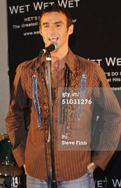 News Photo : Singer Marti Pellow of the band Wet Wet Wet...