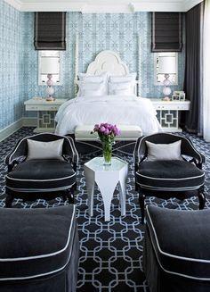 hollywood regency bedroom - Google Search