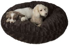 Legitimutt All Embossed Dog Cuddle Bed, Small, Brown -- You can get more details by clicking on the image.