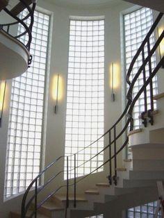 Art deco stairs