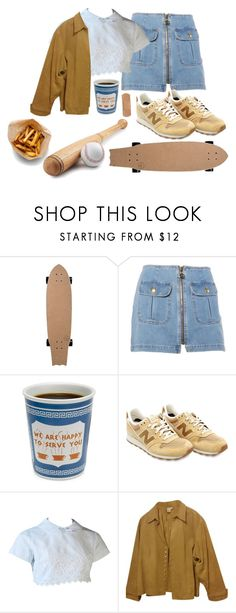 """I dont want it to end"" by lickmyaes ❤ liked on Polyvore featuring Moschino, New Balance, Coldwater Creek and plus size clothing"