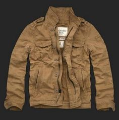 Abercrombie and Fitch Brown Jackets For Mens Official Authorization