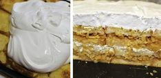 Babičkina žemľovka s tvarohom - Receptik. Vanilla Cake, Food And Drink, Pie, Cooking, Cakes, Basket, Kuchen, Torte, Kitchen