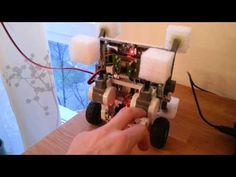Raspberry Pi 2-wheel balancing robot - YouTube