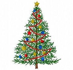 Christmas Tree Machine Embroidery Design ~ Instant Download Christmas Tree Embroidery Design, Christmas Tree Design, Christmas Holidays, Christmas Cards, Christmas Ornaments, Christmas Trees, Machine Embroidery Projects, The Design Files, Embroidery Applique