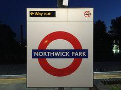 Northwick Park London Underground Station in Harrow