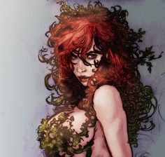 A very sultry Poison Ivy