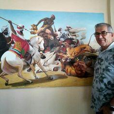HZ Hamza Aslan avı tablosu Painting, Art, Art Background, Painting Art, Kunst, Gcse Art, Paintings, Painted Canvas, Art Education Resources