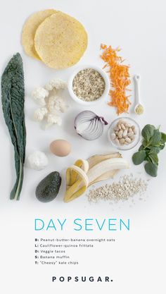 Day 7 Recipes: Clean