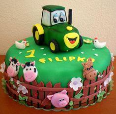 Lawn Tractor - Cake by Ivule