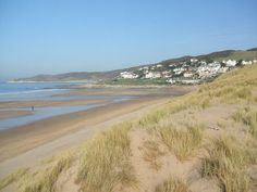 Excited to visit Woolacombe, Devon, for a Spring trip with friends! North Cornwall, Devon And Cornwall, Devon Uk, North Devon, Holiday Places, Dartmoor, Local Attractions, Family Holiday, British Isles