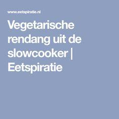 Vegetarische rendang uit de slowcooker | Eetspiratie