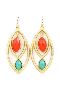 Fiery Marquise Clare Earrings | Emma Stine Jewelry Earrings