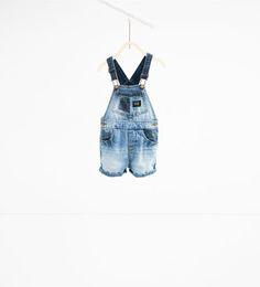 Short denim dungarees-SHORTS-BABY BOY | 3 months-3 years-KIDS | ZARA United…
