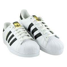 Adidas Superstar J - C77154 - Damskie Obuwie Sportowe. Sportowe buty w dobrej cenie