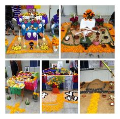 Altars, Ofrendas, on the day that our loved  and gone ones come to visit us