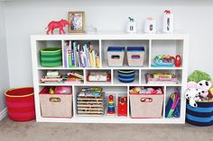 Organize Me Pretty: Tips for Organizing Children's Spaces - withHEART