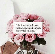 """""""I never came across a person who smiled as much as Prophet Muhammad (peace and blessings of Allah be upon him). Prophet Muhammad (PBUH) regarded smiling to a brother as an act of charity."""" (At-Tirmidhi, 3641) SubhanAllah"""