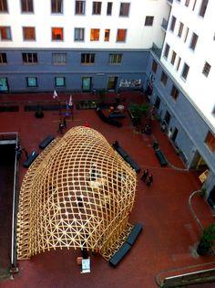 Gridshell | Facoltà di Architettura | Napoli