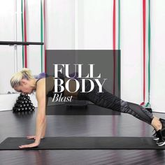 This full body workout routine targets everything from your abs to your arms.
