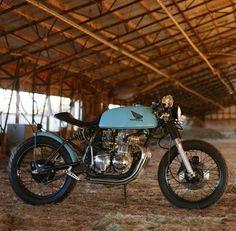 RocketGarage Cafe Racer: 1973 Honda CB350f