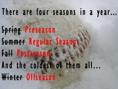 Four seasons in a year ... baseball quote