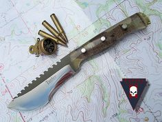 Turley Tracker Never Again Knife.